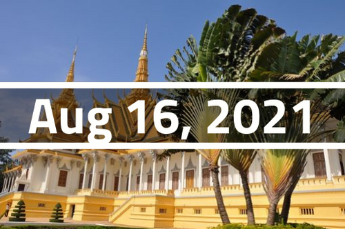 Cambodia, Phnom Penh - TEFL Course Deposit - August 16 - September 8, 2021