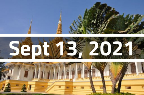 Cambodia, Phnom Penh - TEFL Course Deposit - September 13 - October 6, 2021