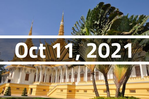 Cambodia, Phnom Penh - TEFL Course Deposit - October 11 - November 3, 2021