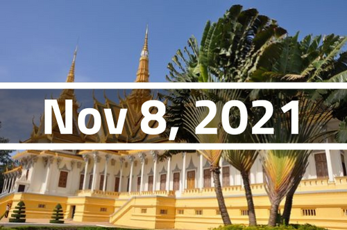 Cambodia, Phnom Penh - TEFL Course Deposit - November 8 - December 1, 2021