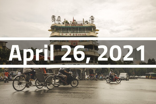 Vietnam, Hanoi - TEFL Course Deposit - April 26 - May 19, 2021