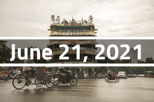 Vietnam, Hanoi - TEFL Course Deposit - June 21 - July 14, 2021