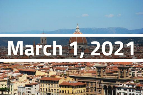 Italy, Florence - TEFL Course Deposit - March 1 - March 25, 2021