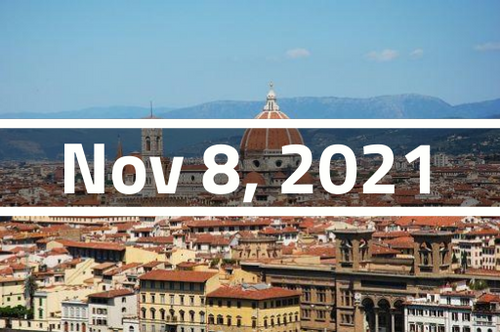 Italy, Florence - TEFL Course Deposit - November 8 - December 3, 2021