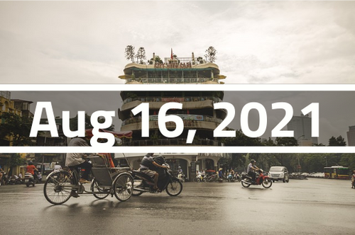 Vietnam, Hanoi - TEFL Course Deposit - August 16 - September 8, 2021
