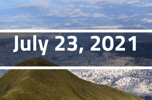 Ecuador, Quito - TEFL Course Deposit - July 23 - August 20, 2021