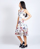 Lagom  Lavinia Dress Floral side view on model on grey background