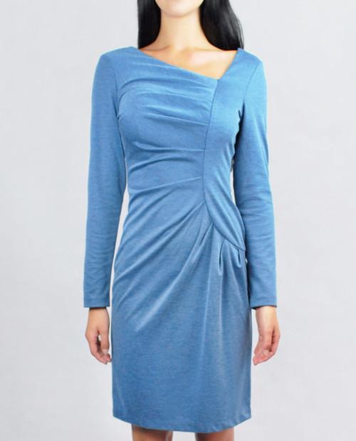 Frieda Dress Blue