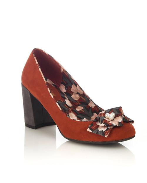 Ruby Shoo Pandora Shoes Russet