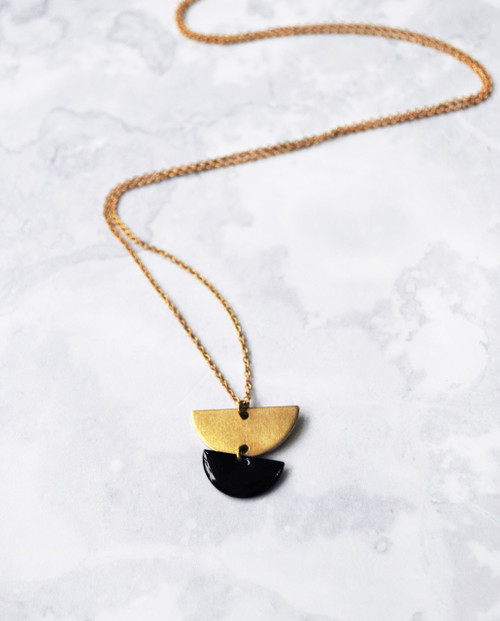 Venus Long Necklace Gold