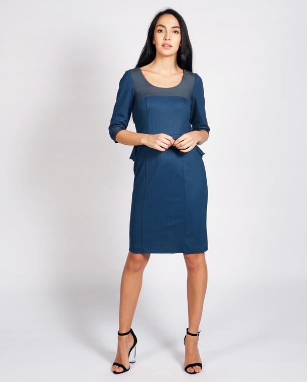 Palermo Dress Blue