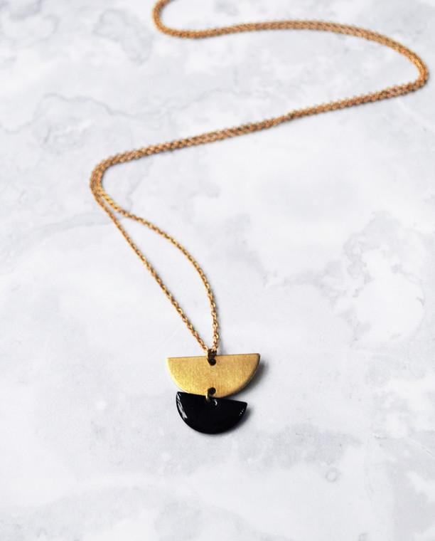 Venus Long Necklace Gold