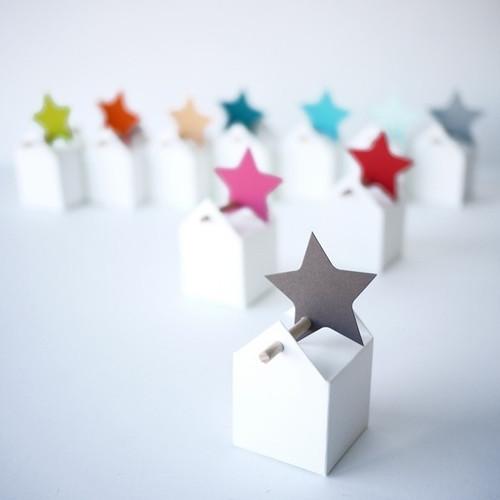 Etichetta stella per decorare