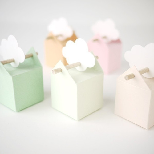 6 colori pastello per i bomboniere dolce e tenue