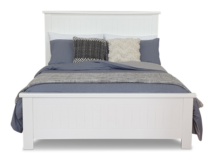 WHITE RABBIT Double Bed with 2 Apollo Bedsides