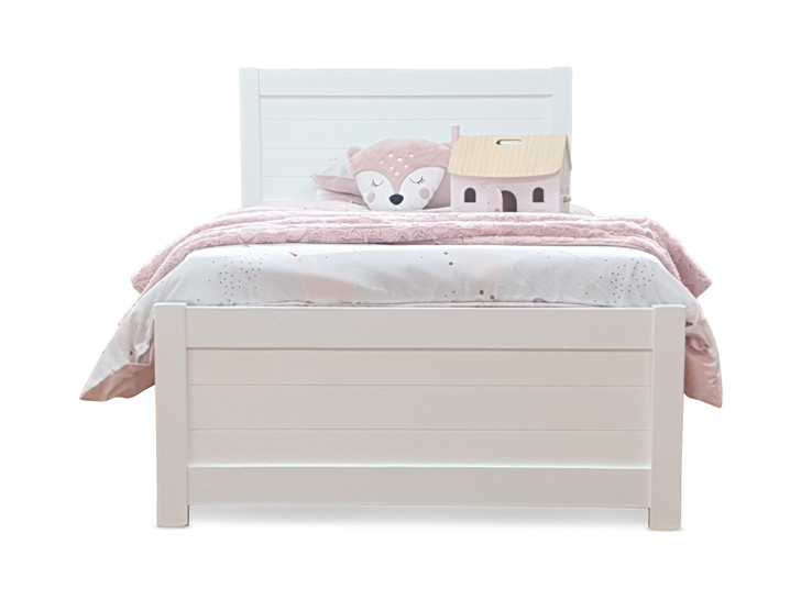 Single bed Australian Made Timber bed White
