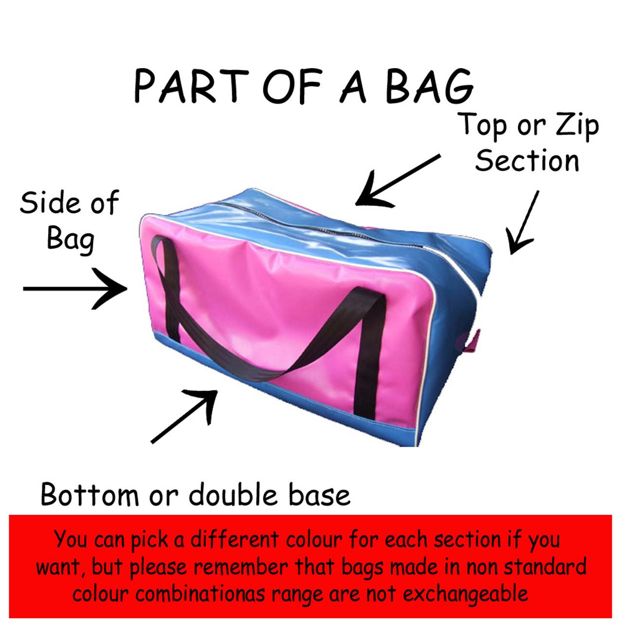 Travel Mate Bag Oil cloth Australian Made 52cmL X 28cmW X 25cm H