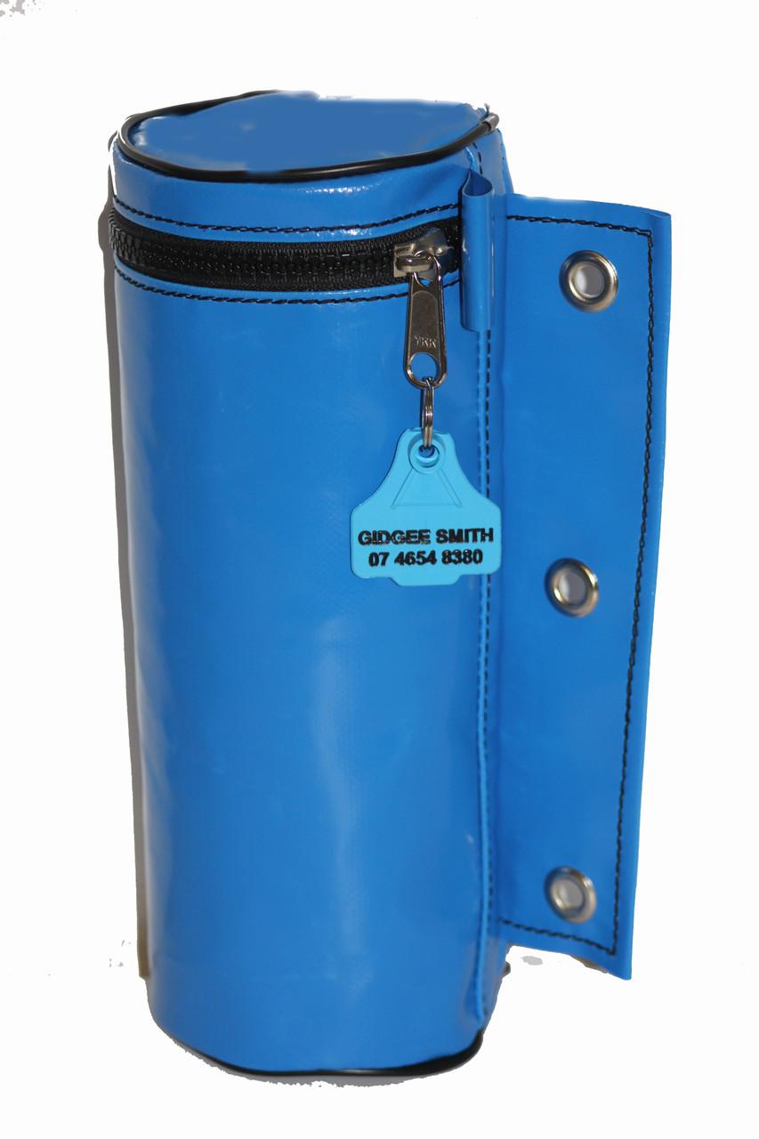 Water Bottle Bag 31cm H x 12 cm W Australian Made pvc gear bags
