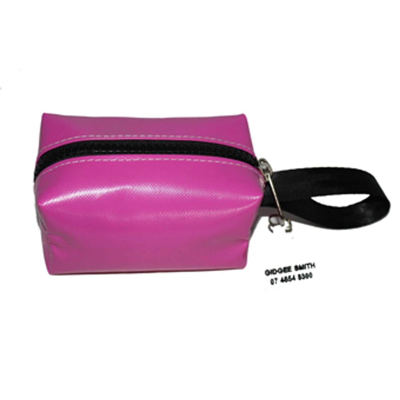 Make-Up Case-Small pvc 14cm L x 9cm H x 8cm  W Australian Made pvc gear bags