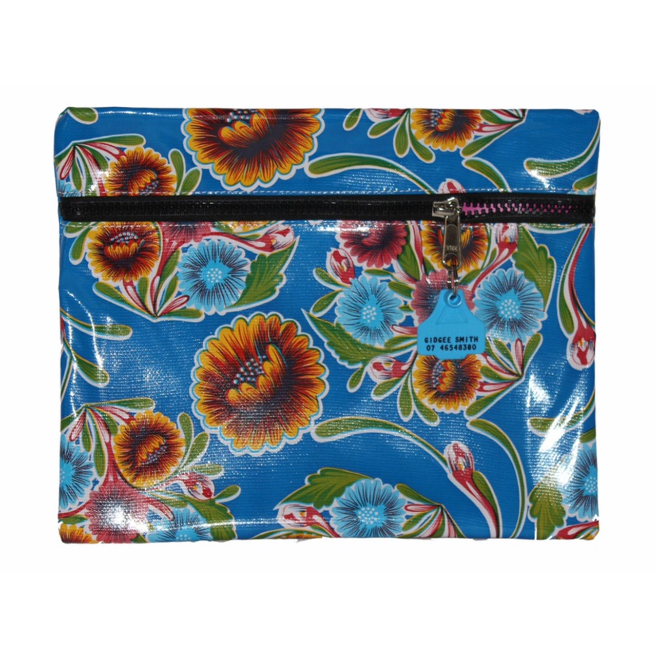 Truckies Wallet covered with oil cloth  Australian Made 38cm L x 28cm W