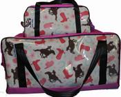 Overnight Bag  Fabric/PVC  60L X 27W X 27Hcm