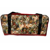 Overnight Bag  Fabric/PVC  60L X 27W X 27Hcm Australian Made pvc gear bags