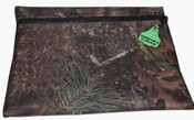 Truckies Wallet covered with Natural Pinecone Camo Print