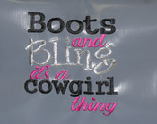 EMB Boots and Bling Dance/Box/Shampoo only