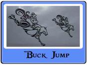 EMB BUCK JUMP Dance/box/shampoo bags only
