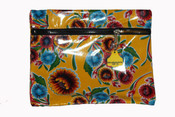 Truckies Wallet covered with oil cloth 38cm L x 28cm W