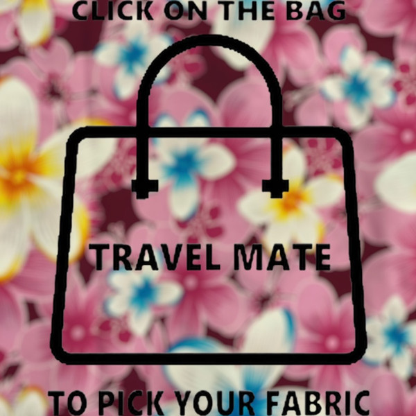 Travel Mate Bag  Fabric/PVC   52cmL X 28cmW X 25cm H