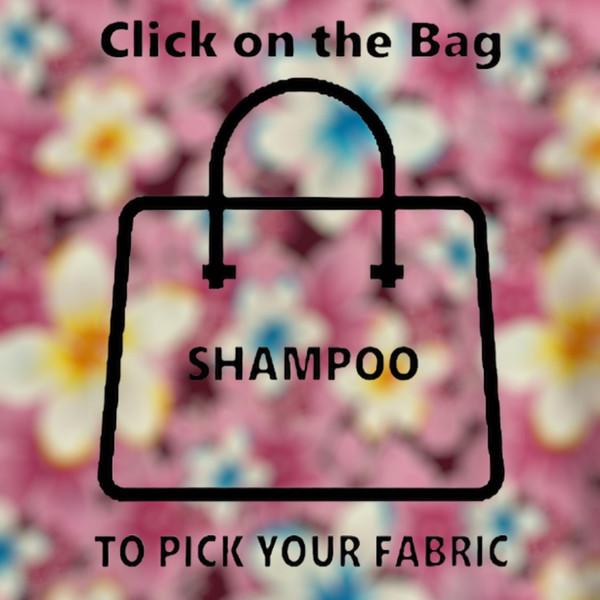 Shampoo Fabric/PVC 32cmL X 15cmW X 17cm H