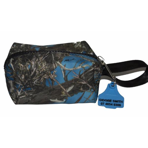 Camo Wet Packs  22cm L x 8cm H x 13 W Australian Made pvc gear bags
