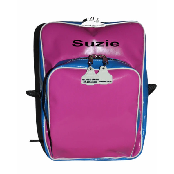 Back Packs 4 to 12 years with Embroidery  Australian Made