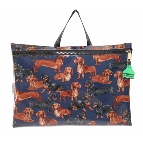Library Bag  fabric finish 47cm L x 33cm H