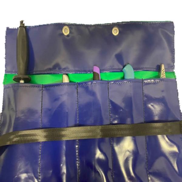 Knife Roll Australian Made pvc gear bags