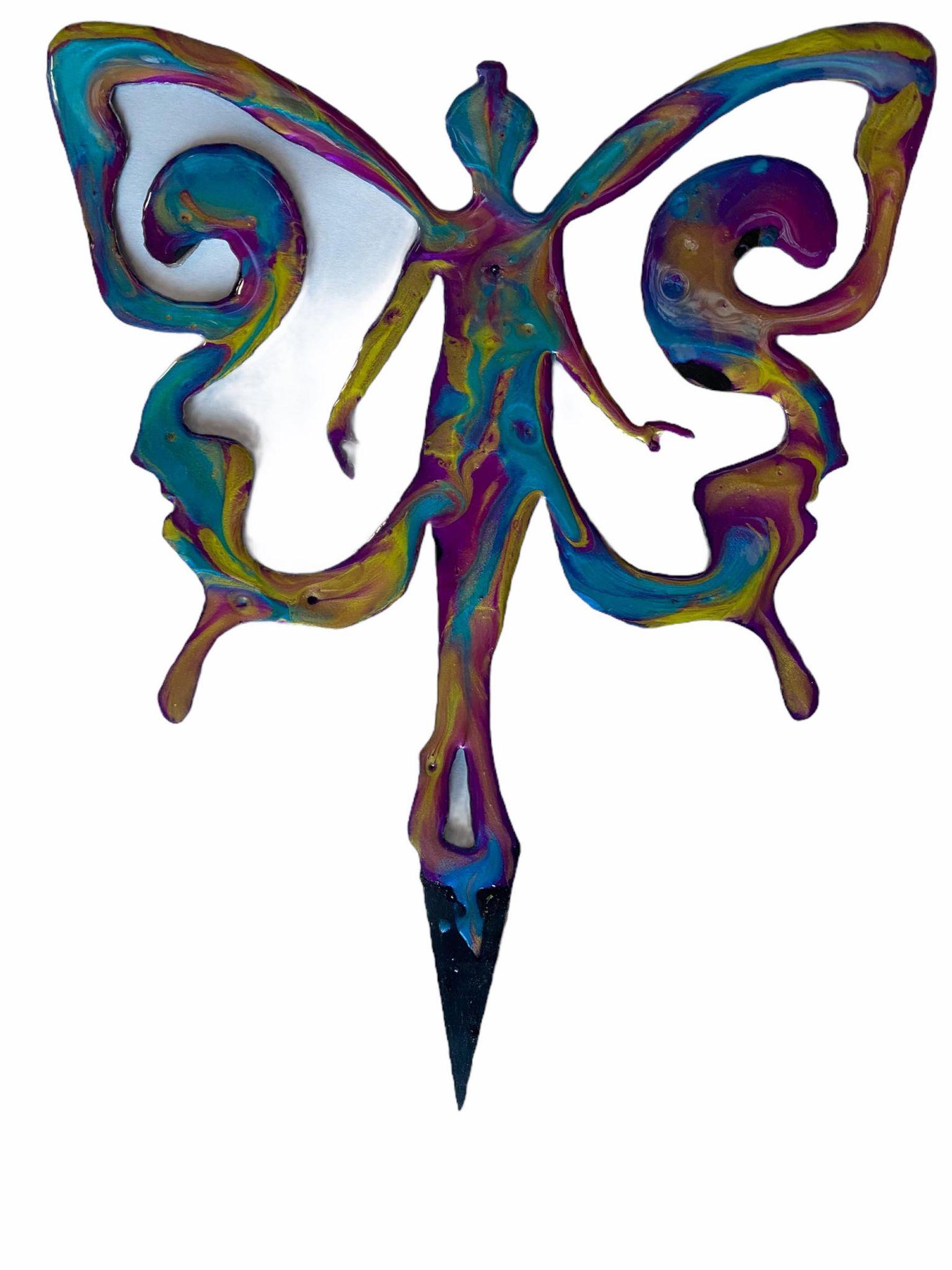 Fairyfly Plasma Resin Garden Art