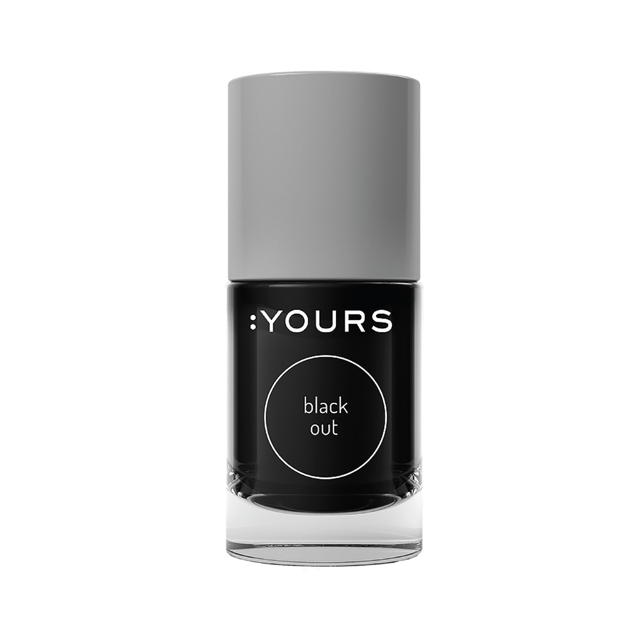 :Yours Stamping Polish Black Out