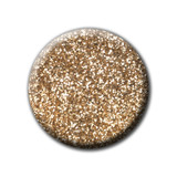 LE P+ Gold Glitter Gel Polish 15ml