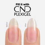 CND PLEXIGEL before and after