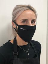 LashUS Double Layer Reusable Face Mask (Black)