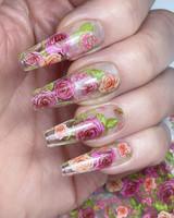 Lecente Floral Foil