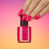 CND Vinylux Sangria At Sunset Nails