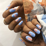 CND Shellac Chance Taker Nail Art
