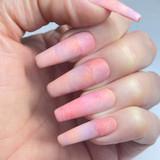 Lecente Pink Sky Foil