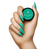 Light Elegance - Night Terror Teal P+ Color Gel Polish Hand Swatch