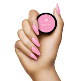 Light Elegance Dreaming in Colour Summer Collection - Shade Dream On P+ Color Gel Polish Hand Swatch