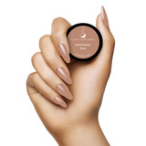 Light Elegance Dreaming in Colour Summer Collection - Shade Sandman Tan Color Hard Gel Hand Swatch