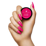 Light Elegance Fuchsia Fantasy Color Hard Gel Hand Swatch