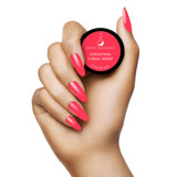 Light Elegance Counting Coral Sheep Hard Gel Swatch